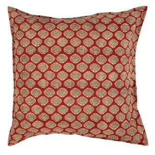 Solana Cotton Cushion Red
