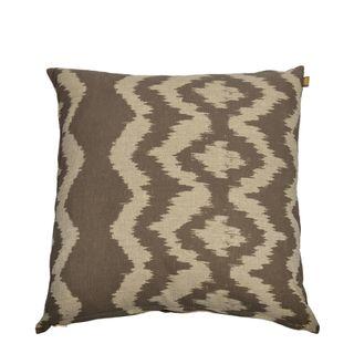 Ikat Cushion Charcoal