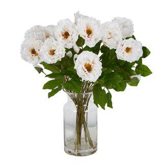 Poppy Arrangement White