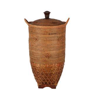 Indah Oversized Woven Basket 38x65cm