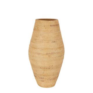 Budi Oversized Woven Basket Light Natural
