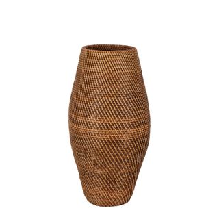 Budi Oversized Woven Basket Dark Natural