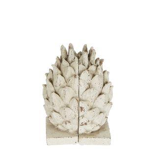 Pinecone Rustic Bookend