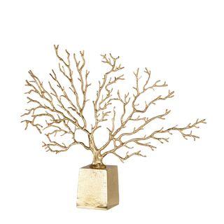 Brass Tree Ornament