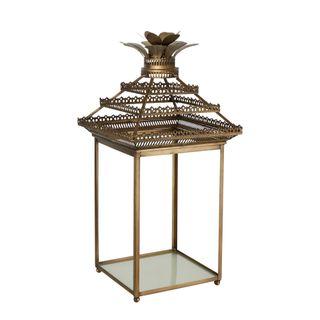 Classic Vintage Brass Lantern