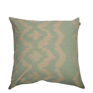 Ikat Cushion Sky Grey