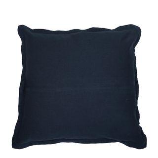 Classic Linen Cushion Navy