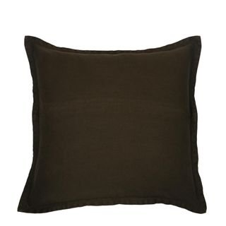 Classic Linen Cushion Olive Green