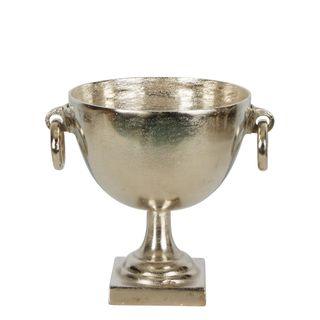 Dame Aluminium Round Bowl With Handle