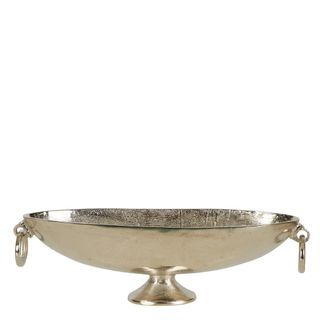 Dame Aluminium Oval Bowl With Handle