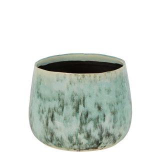 Angus Ceramic Vase Medium Green