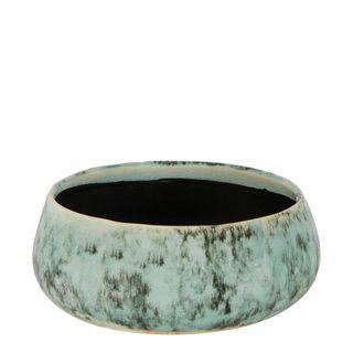 Angus Ceramic Vase Small Green