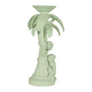 Monkey Candle Stand Pistachio
