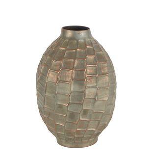 Inga Distressed Iron Vase Large