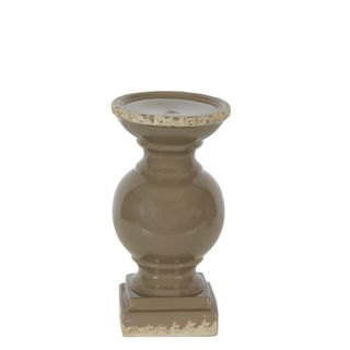 Montreal Candle Holder Small Taupe