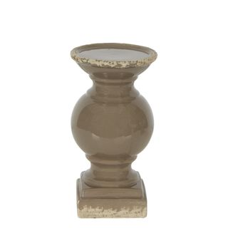 Montreal Candle Holder Large Taupe