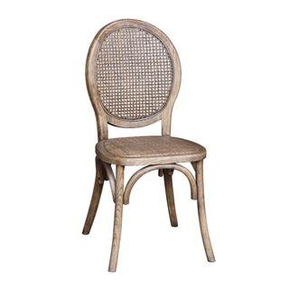 Louisiana Oak Dining Chair Natural