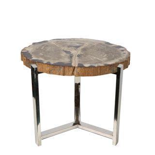 Victoria Petrified Wood Table