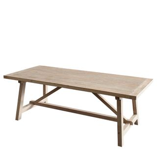 Varro Pine Olive Wash Dining Table