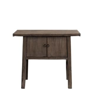 Shanxi Elm 120 Year Antique Wooden Side Table 5