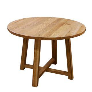 Denver Oak Dining Table 110CM