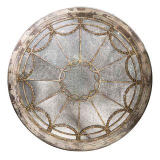 Lisbon Rustic Round Mirror 132x132x3c