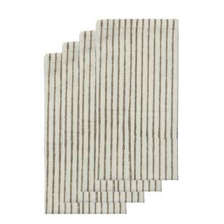 Cyra Stripe Cotton Napkin Set of 4