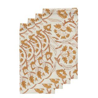 Sorento Paisley Cotton Napkin Set of 4