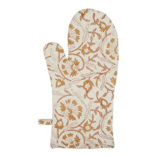 Sorento Floral Cotton Single Oven Glove