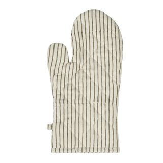 Cyra Stripe Cotton Single Oven Glove