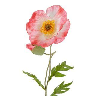 Poppy Stem 68cm Pink