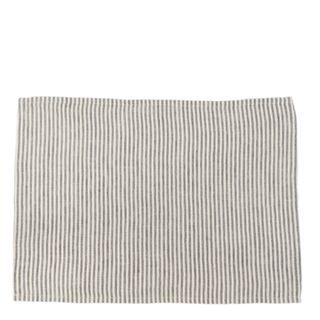 Linen Stripe Placemat Storm