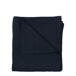 Classic Linen Tablecloth Navy