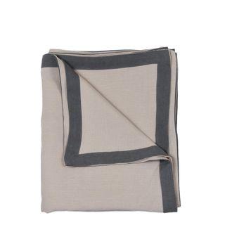 Elegance Linen Tablecloth Storm