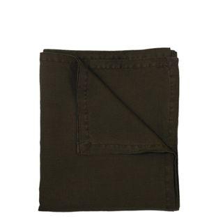 Classic Linen Tablecloth Olive Green