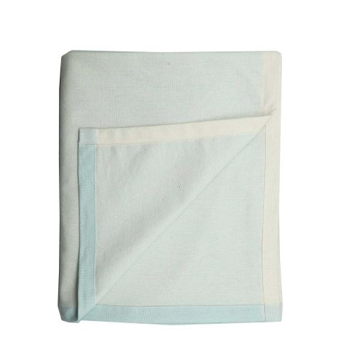 Chambray Tablecloth Sky Grey