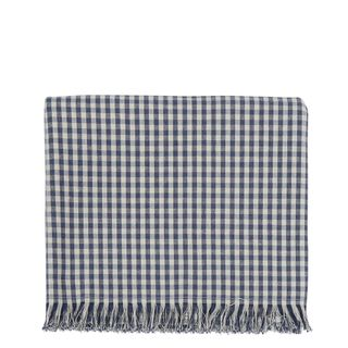 Gingham Tablecloth Blueberry