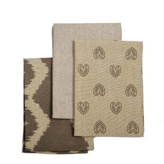 Tea Towel Pack Set of 3 Charcoal