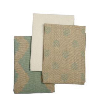 Tea Towel Pack Set of 3 Sky Grey