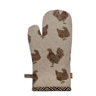 Henrietta Oven Glove Earth Brown