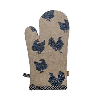 Henrietta Oven Glove Blueberry