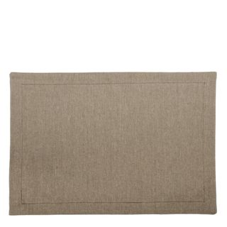 Chambray Placemat Set of 4 Charcoal