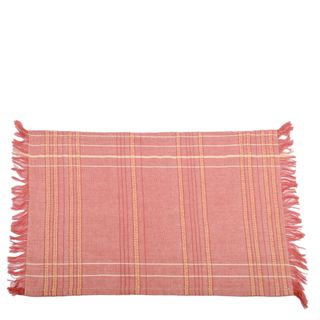 Textured Check Placemat Fig