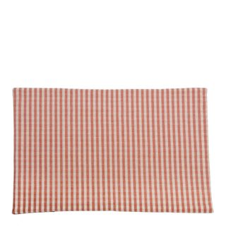Gingham Placemat Set Of 4  Fig