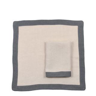 Elegance Linen Napkin Storm