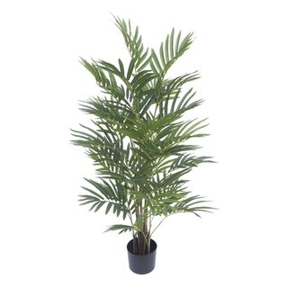 Real Touch Mini Palm Tree In Black Pot 120cm