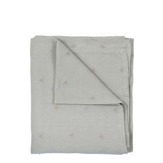 Mason Bee Linen Tablecloth Sky Grey