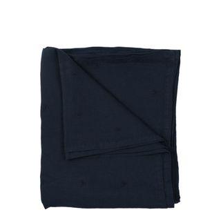Mason Bee Linen Tablecloth Navy