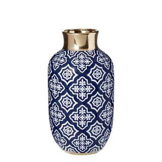 Tangier Bottle Neck Vase Midnight