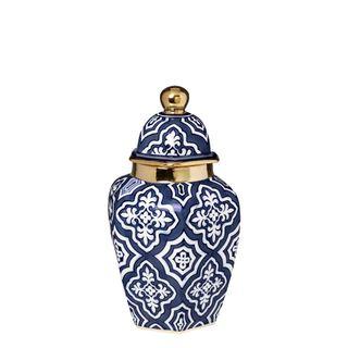 Tangier Ginger Jar Small Midnight